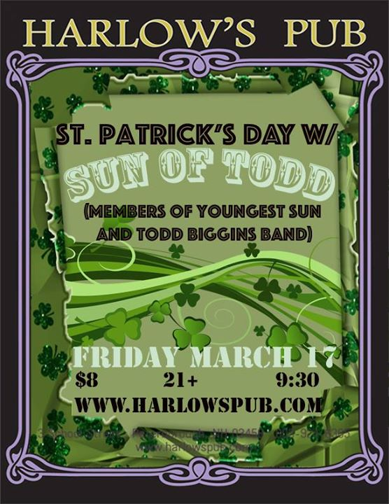 St. Patrick's Day with Sun of Todd!