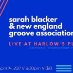 Sarah Blacker & New England Groove Association at Harlow's