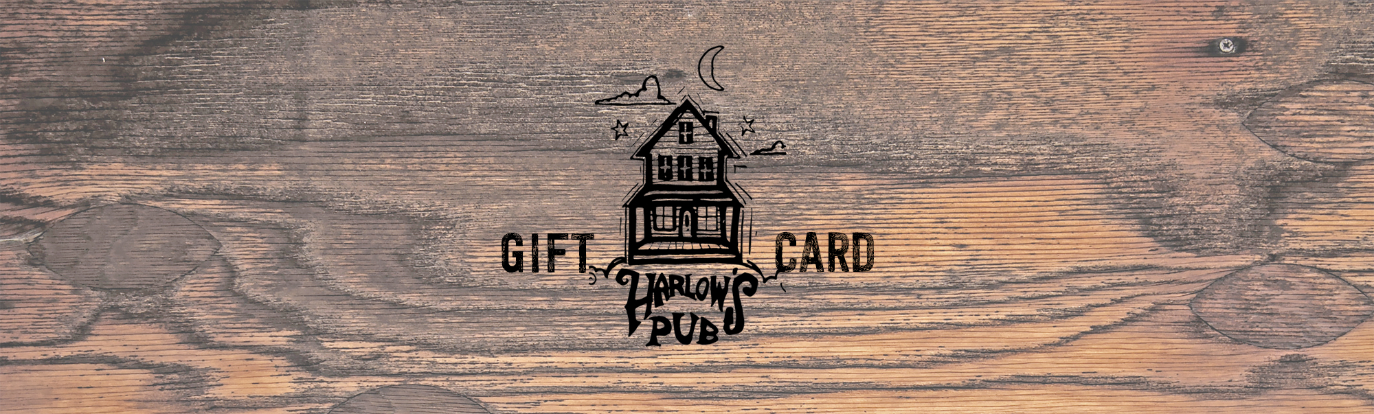The Harlow's Pub Gift Card